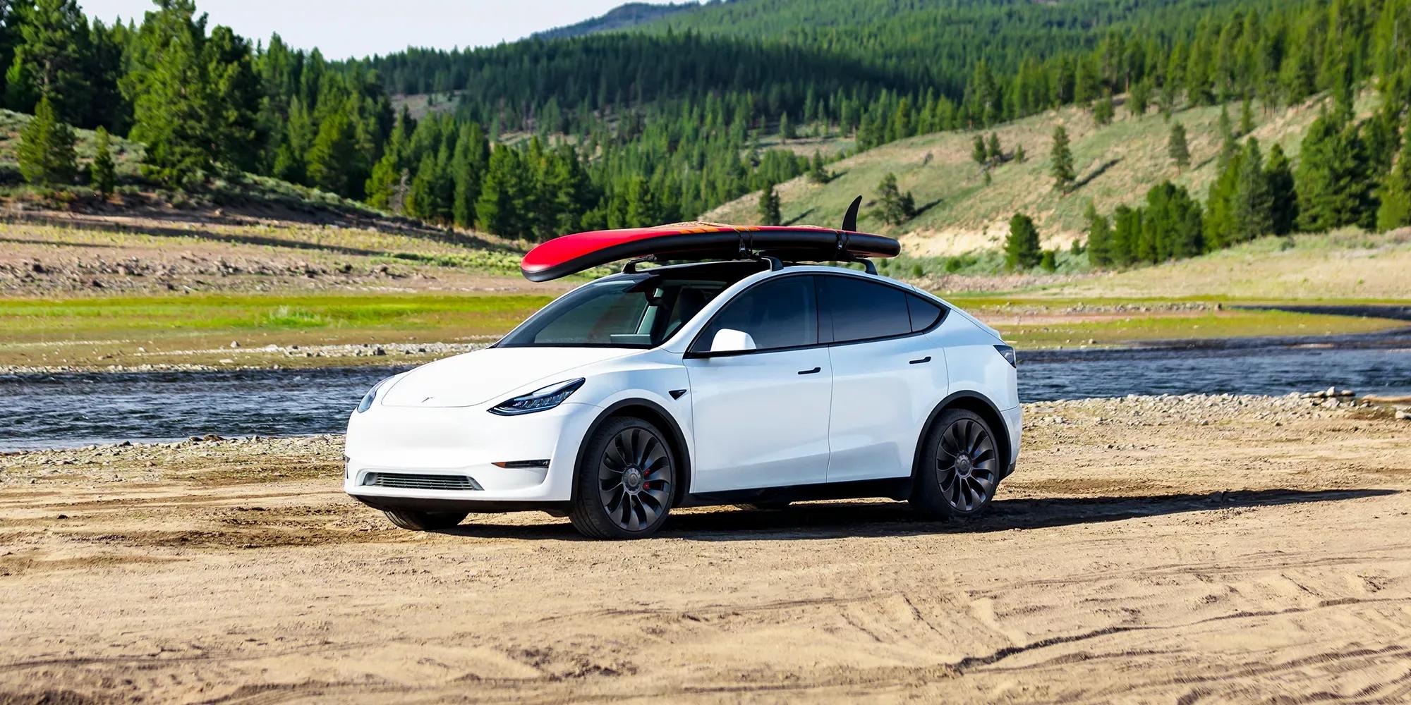 Tesla uitzicht landscape